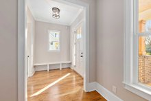 Architectural House Design - Craftsman Interior - Entry Plan #461-75