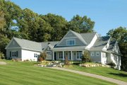 Traditional Style House Plan - 3 Beds 2.5 Baths 3670 Sq/Ft Plan #928-26 Exterior - Front Elevation