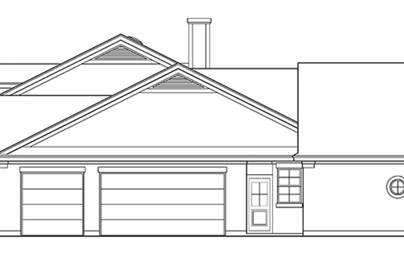 Country Exterior - Other Elevation Plan #472-207 - Houseplans.com