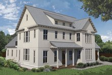 Home Plan - Farmhouse Exterior - Front Elevation Plan #1058-73