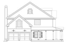 Home Plan - Classical Exterior - Other Elevation Plan #927-882