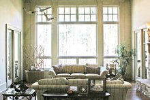 Craftsman Interior - Family Room Plan #929-889
