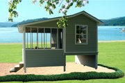Cottage Style House Plan - 1 Beds 0 Baths 192 Sq/Ft Plan #21-325 Exterior - Front Elevation