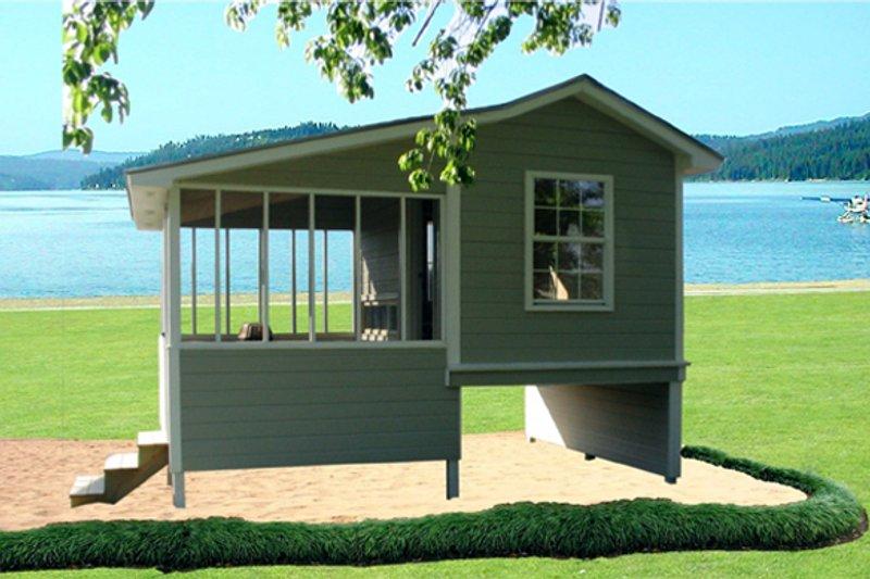 Home Plan - Cottage Exterior - Front Elevation Plan #21-325