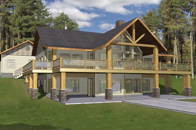 Ranch Exterior - Front Elevation Plan #117-840 - Houseplans.com