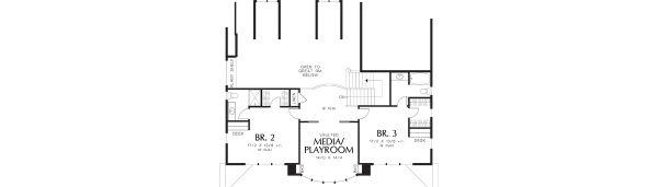 House Plan Design - Country Floor Plan - Upper Floor Plan #48-237