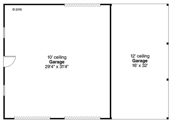 Traditional Floor Plan - Main Floor Plan Plan #124-1054