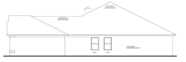 Traditional Floor Plan - Other Floor Plan Plan #1058-49