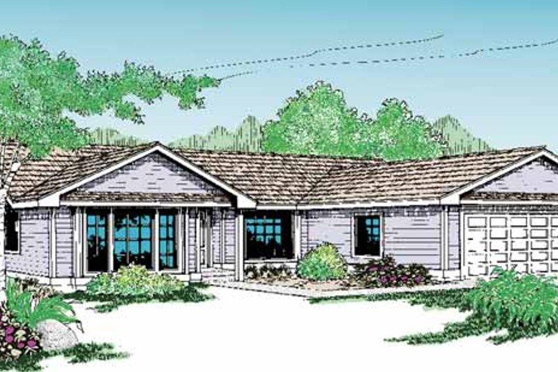 Craftsman Exterior - Front Elevation Plan #60-719 - Houseplans.com