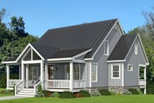 Traditional Exterior - Front Elevation Plan #932-333