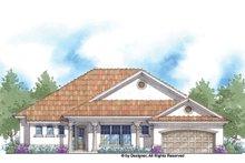 House Plan Design - Mediterranean Exterior - Front Elevation Plan #938-70