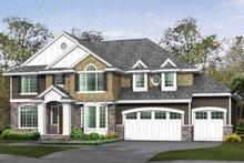 Craftsman Exterior - Front Elevation Plan #132-463
