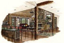 Ranch Interior - Family Room Plan #942-15