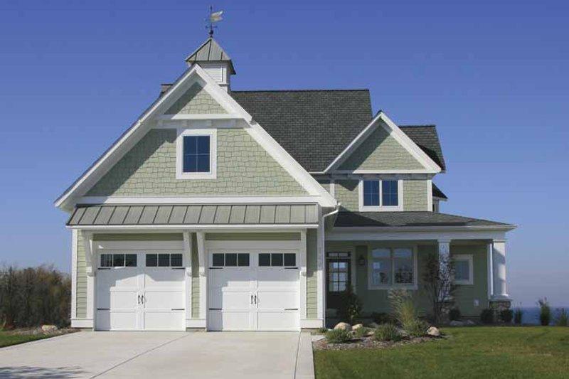Architectural House Design - Craftsman Exterior - Front Elevation Plan #928-75