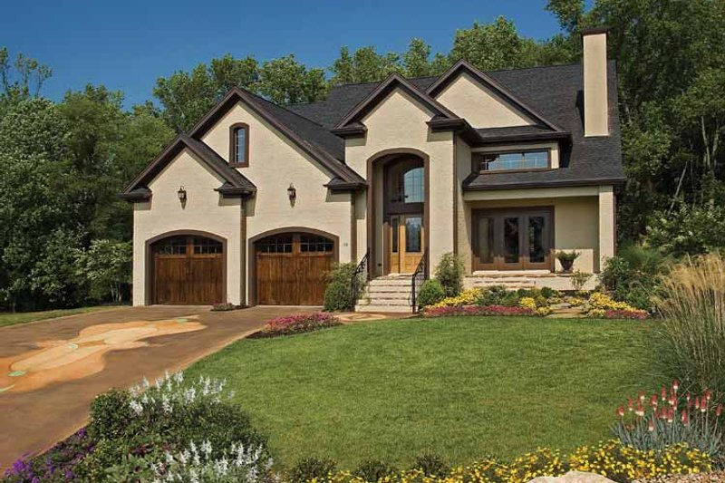 Country Exterior - Front Elevation Plan #929-651 - Houseplans.com