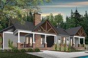 Farmhouse Style House Plan - 4 Beds 2.5 Baths 3249 Sq/Ft Plan #23-2689 Exterior - Rear Elevation