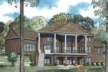 Traditional Exterior - Rear Elevation Plan #17-3365