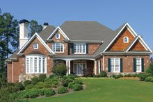 Home Plan - Country Exterior - Front Elevation Plan #54-377