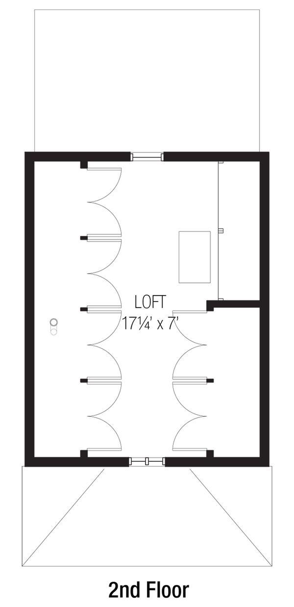 Cottage Floor Plan - Upper Floor Plan #915-4