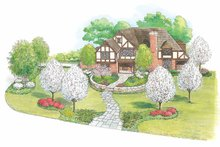 House Design - European Exterior - Front Elevation Plan #1040-20