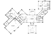Contemporary Style House Plan - 4 Beds 3.5 Baths 4183 Sq/Ft Plan #17-3390