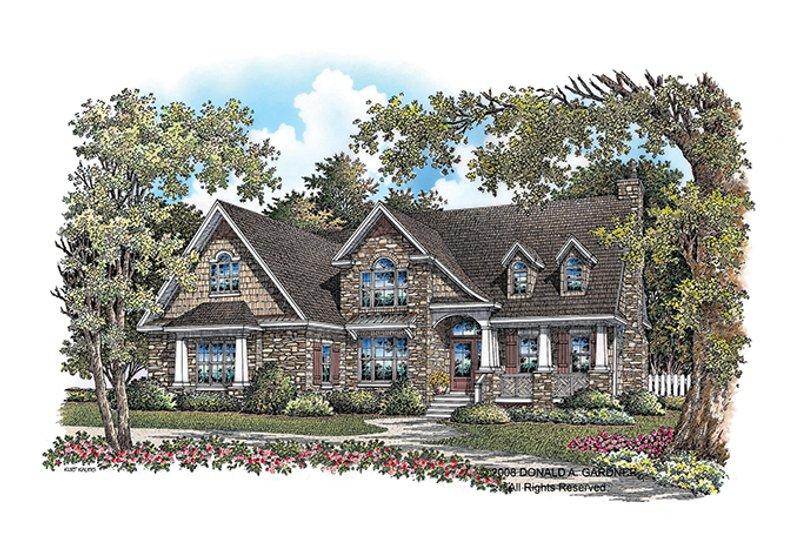 House Plan Design - European Exterior - Front Elevation Plan #929-907