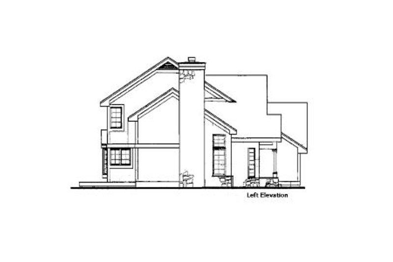Bungalow Exterior - Other Elevation Plan #320-343 - Houseplans.com