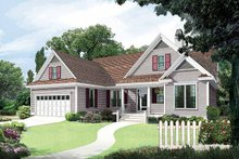 Architectural House Design - Country Exterior - Front Elevation Plan #929-555