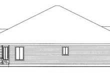 Traditional Exterior - Other Elevation Plan #117-834