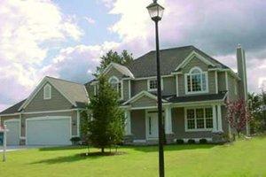 Craftsman Exterior - Front Elevation Plan #49-105