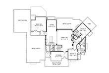 Craftsman Floor Plan - Lower Floor Plan Plan #920-96
