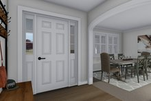 Dream House Plan - Traditional Interior - Entry Plan #1060-62