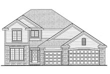 Home Plan - Traditional Exterior - Front Elevation Plan #20-2083
