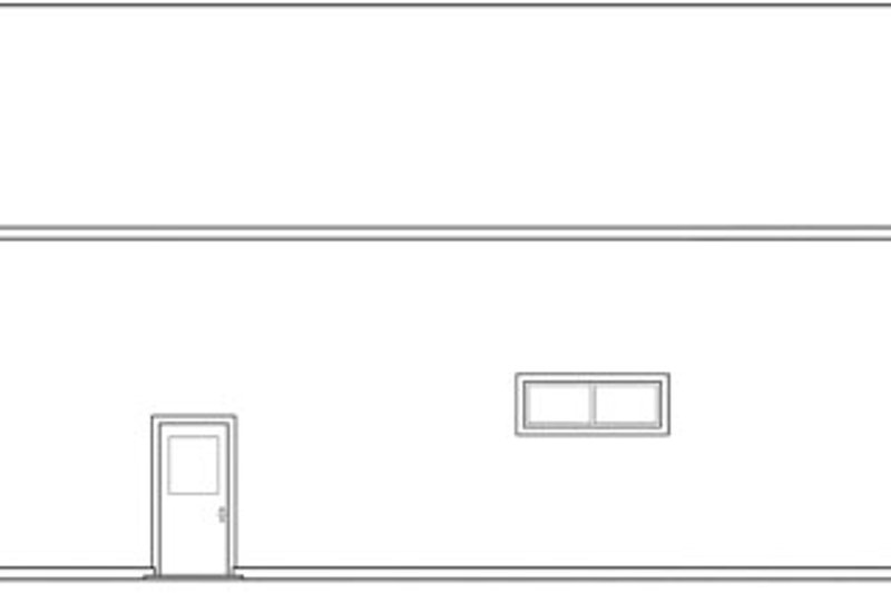 Traditional Exterior - Other Elevation Plan #124-662 - Houseplans.com