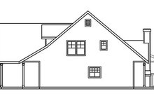 Home Plan - Traditional Exterior - Other Elevation Plan #124-365