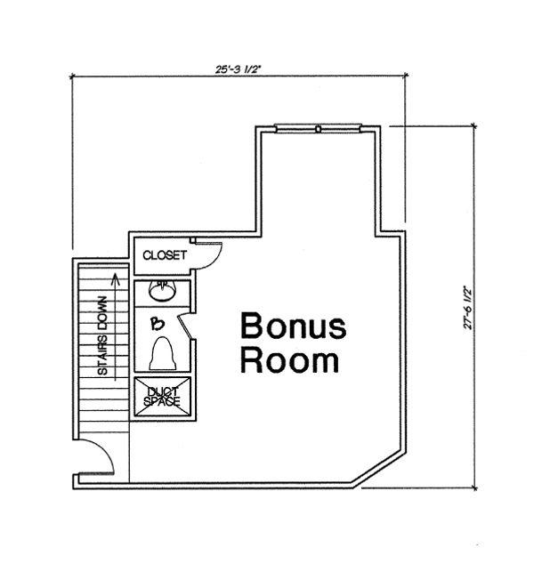 Farmhouse Floor Plan - Other Floor Plan #310-259