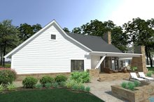 Home Plan - Farmhouse Exterior - Rear Elevation Plan #120-253