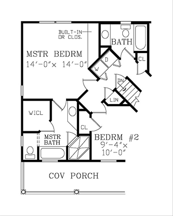 1000 square foot country home