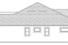 House Plan Design - Colonial Exterior - Other Elevation Plan #1058-124