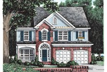 House Plan Design - Colonial Exterior - Front Elevation Plan #927-161