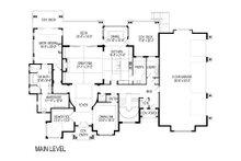 Craftsman Floor Plan - Main Floor Plan Plan #920-49