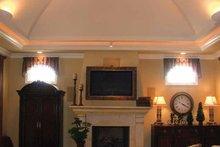 House Design - Mediterranean Interior - Family Room Plan #937-17