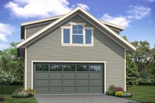 Home Plan - Country Exterior - Front Elevation Plan #124-1100