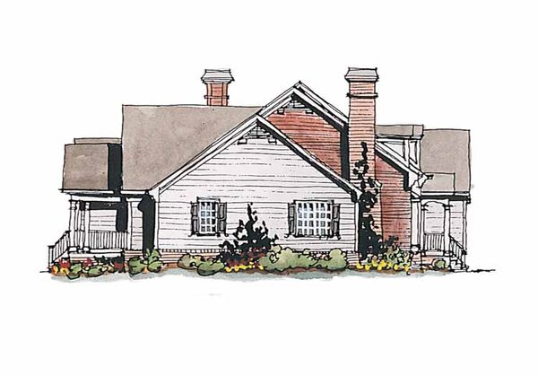Home Plan Design - Colonial Floor Plan - Other Floor Plan #429-177
