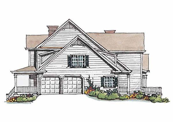 Classical Floor Plan - Other Floor Plan Plan #429-188