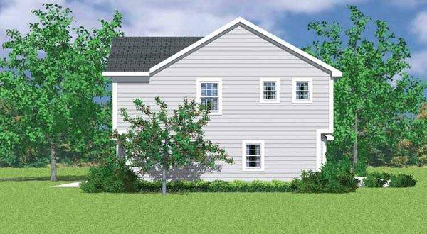 Traditional Floor Plan - Other Floor Plan Plan #72-1071