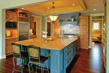 Home Plan - European Interior - Kitchen Plan #928-28