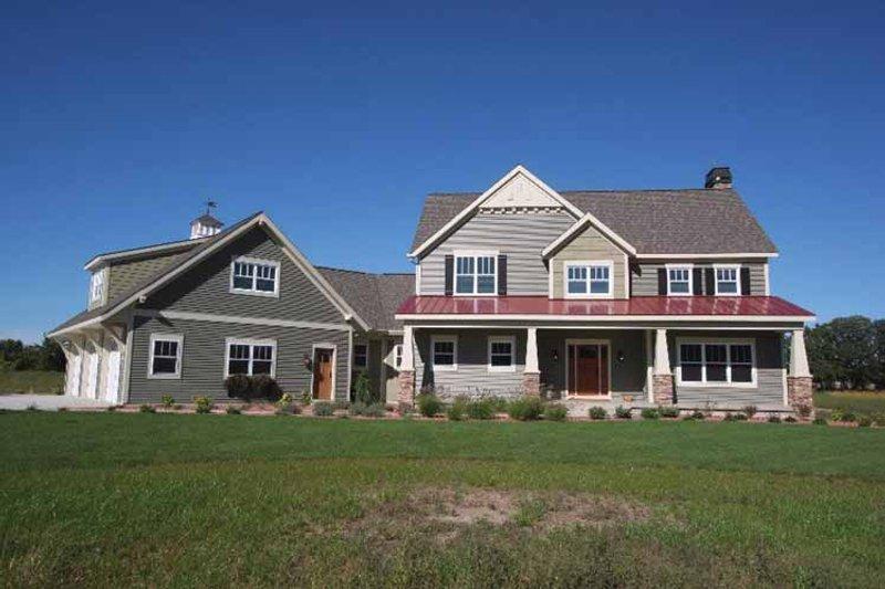 Craftsman Exterior - Front Elevation Plan #928-39