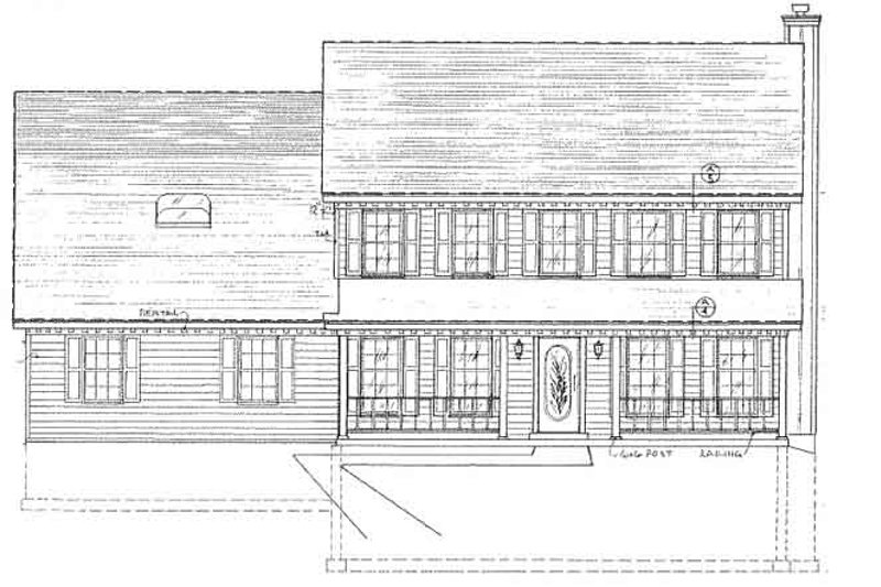 Country Exterior - Front Elevation Plan #405-314 - Houseplans.com