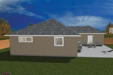 Ranch Exterior - Rear Elevation Plan #1060-22